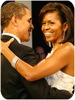 Barack in Michelle Obama